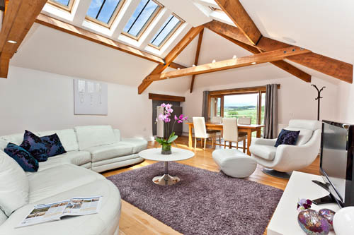 The Folly holiday cottage with self-catering holiday accommodation for 2 at Hall Hills with easy access to the Lake District